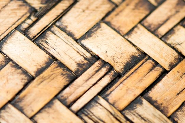 Fundo de textura de vime antigo