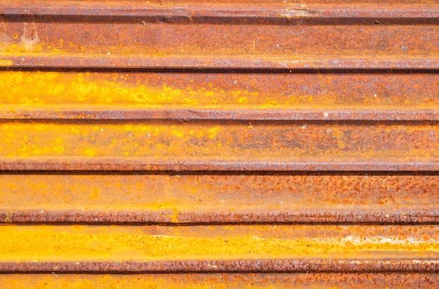 Fundo de textura de zinco antigo fundo de textura de ferrugem de placa de aço