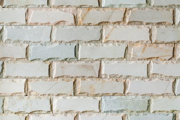Fundo de textura decorativa telha tijolo branco