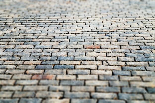 Fundo de textura do pavimento de tijolo da praça vermelha de moscou hd