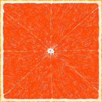 Fundo de textura grande grapefruit