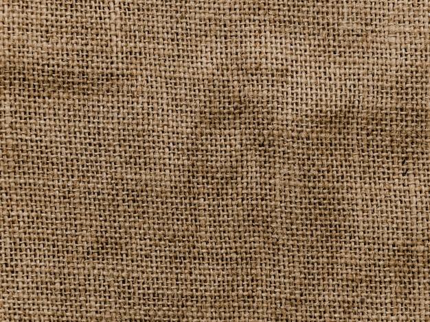 Fundo de textura material de juta
