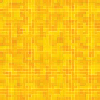 Fundo de textura mosiac de ouro amarelo