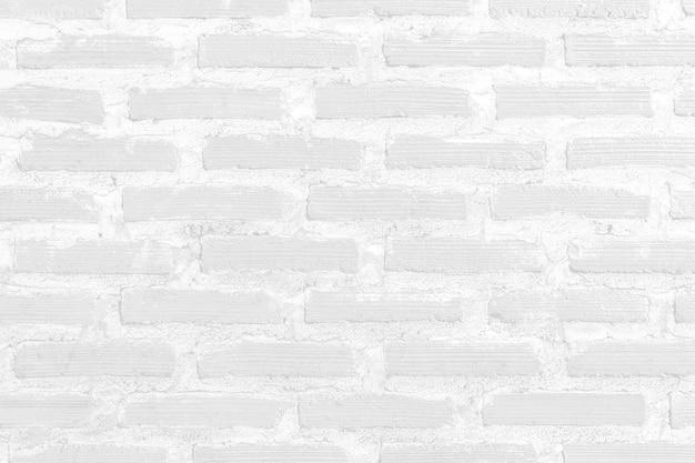 Fundo de textura vintage de parede de tijolo branco.