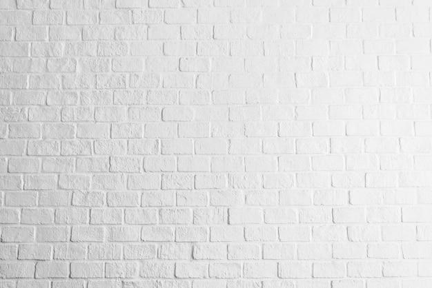 Fundo de texturas de parede de tijolo branco