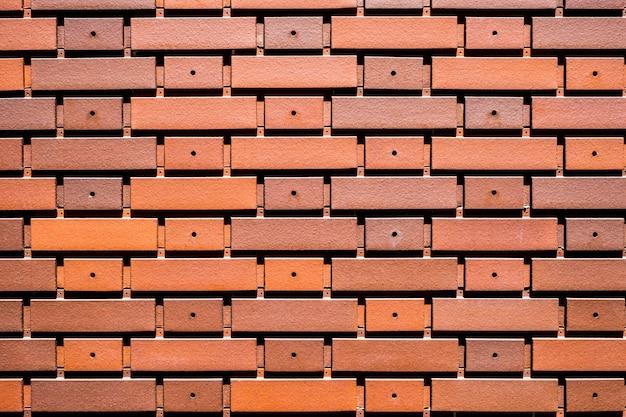 Fundo de tijolo de textura de telha de parede