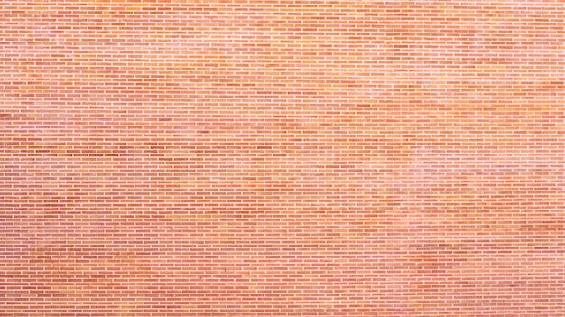 Fundo de tijolos colados à parede com cimento, textura para criar desenhos vazios