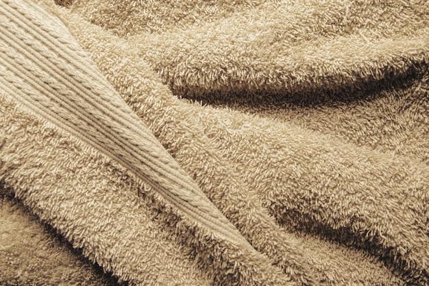 Fundo de toalha de banho bege