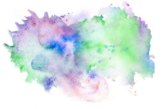 Fundo de traçado de pincel aquarela abstrata.