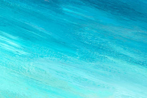 Fundo de traçado de pincel azul e verde-azulado