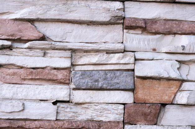 Fundo de uma parede de tijolos