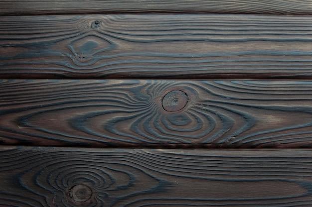 Fundo de uma superfície de madeira escura
