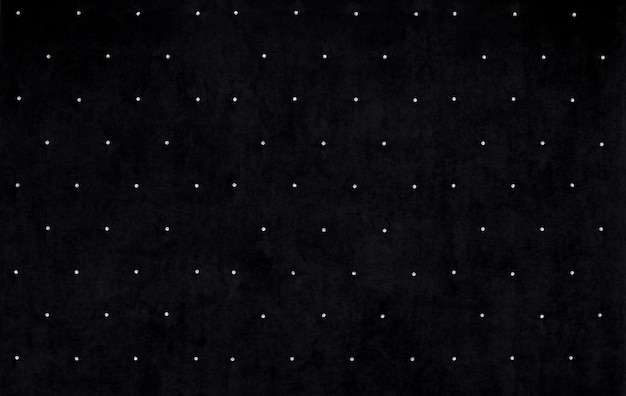 Fundo de veludo preto com cristais