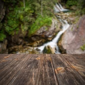 Fundo de viagens embaçada de perspectiva
