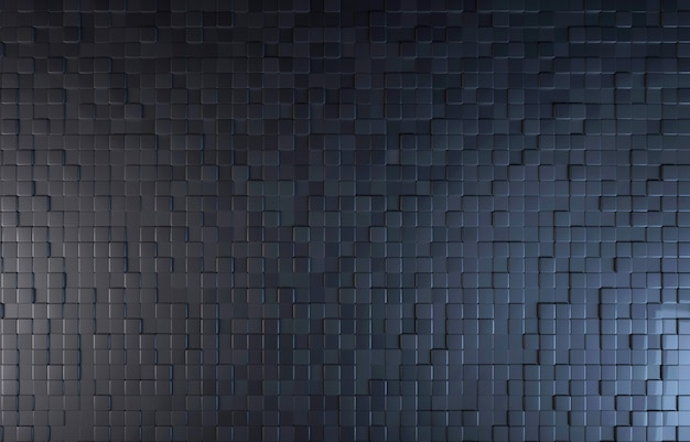 Fundo de vista superior de bloco de cor preta