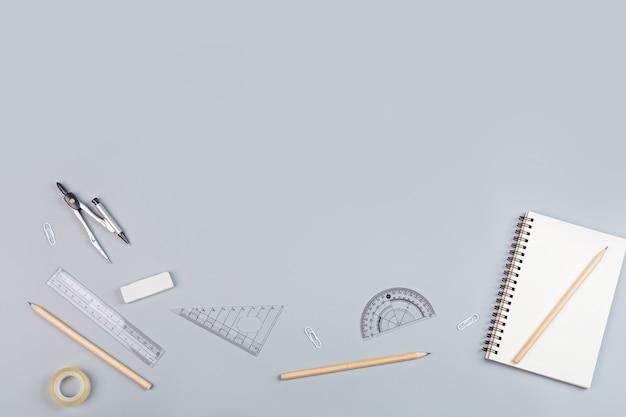 Fundo de volta às aulas com copyspace