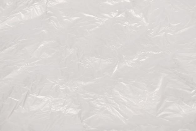 Fundo de wihite de plástico de vista superior