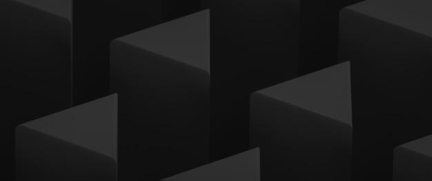 Fundo decorativo abstrato em cores escuras. elementos triangulares