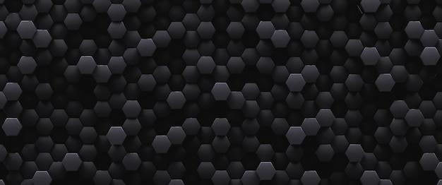 Fundo decorativo baixo abstrato preto