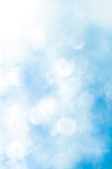 Fundo desfocado abstrato azul bokeh