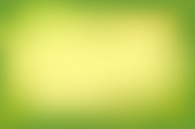 Fundo desfocado abstrato cores verdes gradiente
