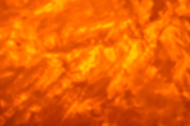 Fundo desfocado abstrato da erupção da lava