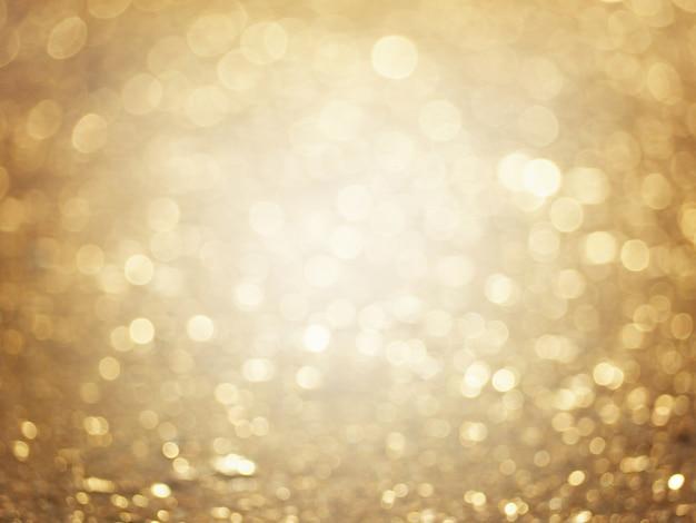 Fundo desfocado abstrato dourado