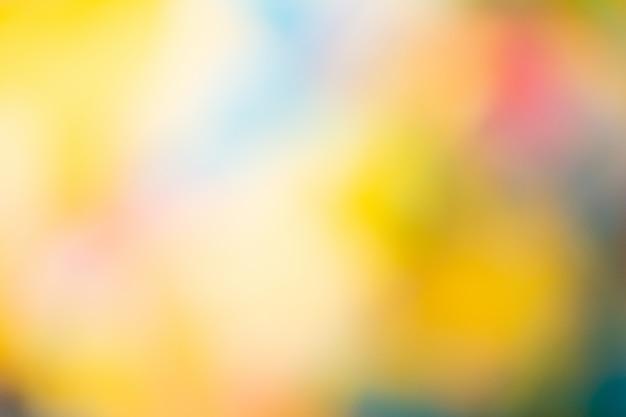 Fundo desfocado com muitas cores