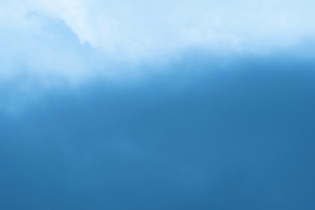 Fundo desfocado de nuvens no céu