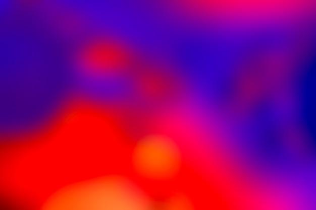 Fundo desfocado em cores neon vibrantes. padrão de textura colorida abstrata embaçada multicolorida para o projeto.