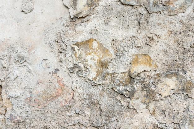 Fundo deteriorado rachado velho da parede áspera