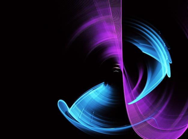 Fundo dinâmico de cor abstrata com efeito de iluminação.