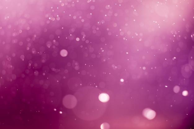Fundo do bokeh das luzes roxas.