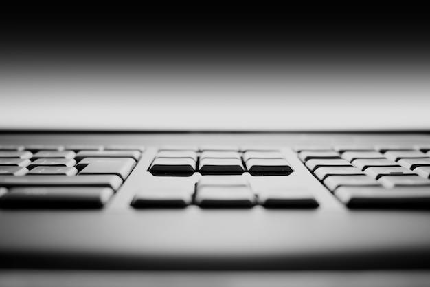 Fundo do bokeh das teclas do teclado hd
