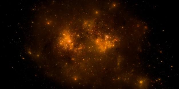 Fundo do campo de estrelas. fundo estrelado do espaço sideral