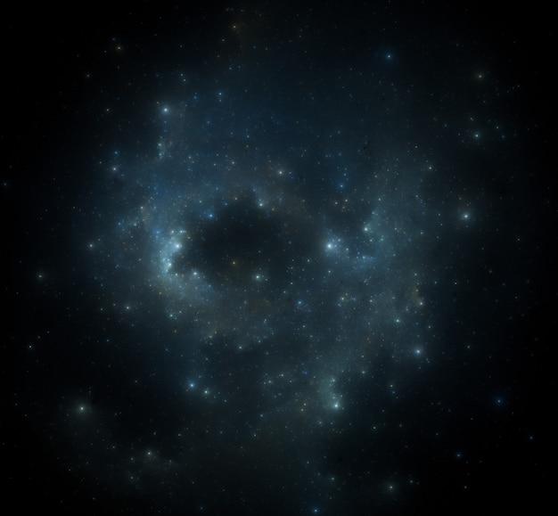 Fundo do campo de estrelas. fundo estrelado do espaço sideral.