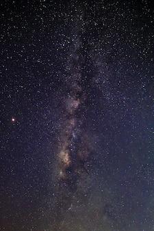 Fundo do céu noturno da via láctea