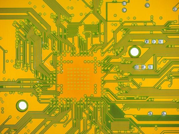 Fundo do circuito impresso