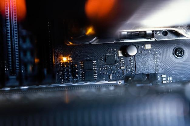 Fundo do componente de hardware
