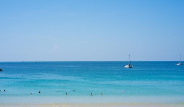 Fundo do mar da praia