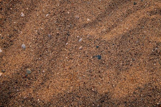 Fundo do mar de areia e cascalho pequeno para seu projeto