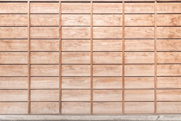 Fundo do painel de madeira