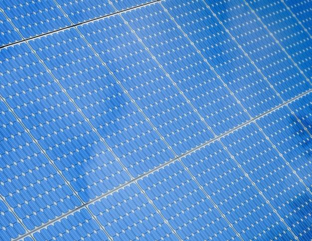 Fundo do painel solar com renderização 3d