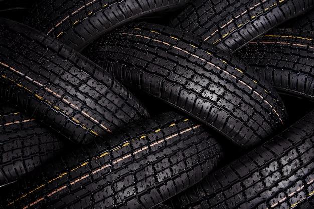 Fundo do pneu