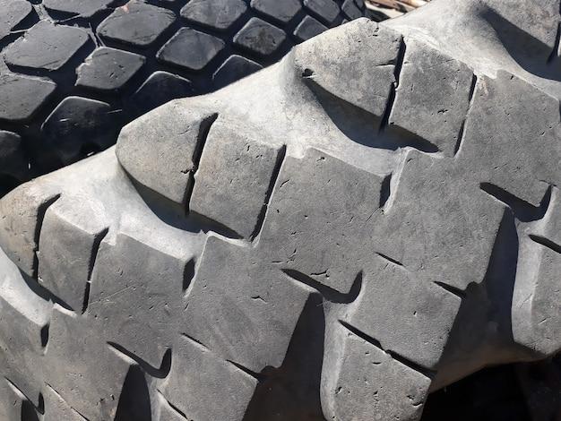 Fundo do teste padrão do piso do pneu.