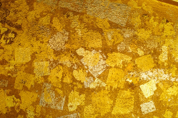 Fundo dourado da parede