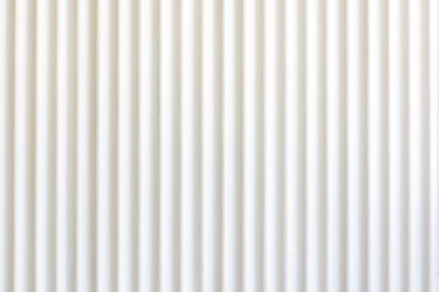 Fundo e textura brancos da folha do zinco.