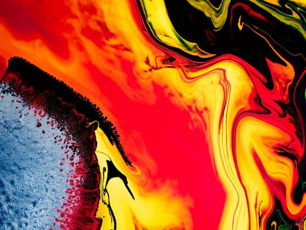 Fundo e textura coloridos abstratos ilustração de cores líquidas