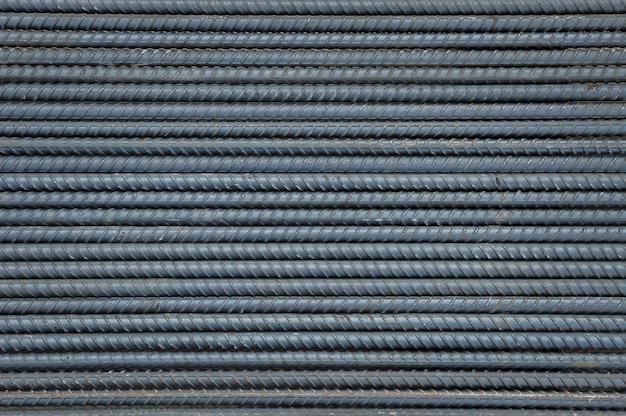 Fundo e textura de aço da haste