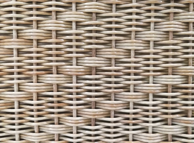 Fundo e textura de cestas de vime